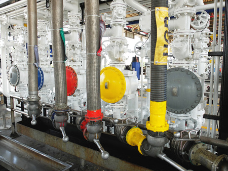 Fuel Loading System in Fuel Terminal photo