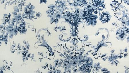 encaje: Retro floral patr�n de la tela de fondo