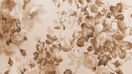 monotone: Retro Lace Floral Seamless Pattern Monotone Sepia Background Vintage Style