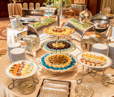 line lines luxury meeting: Catering Dessert and Bekery on Buffet Line