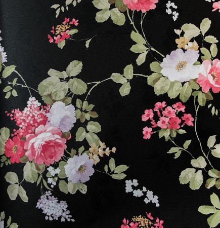 vintage background pattern: Retro Lace Floral Seamless Pattern Fabric Background Vintage Style