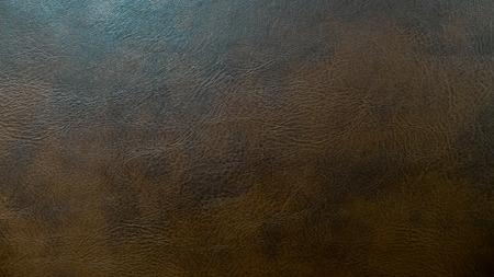 cuero vaca: Caf� oscuro fondo de la textura de cuero para muebles de materiales