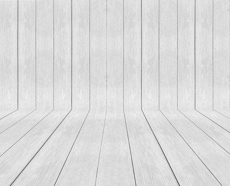 Classic Light White Panel Wood Plank Texture Background For