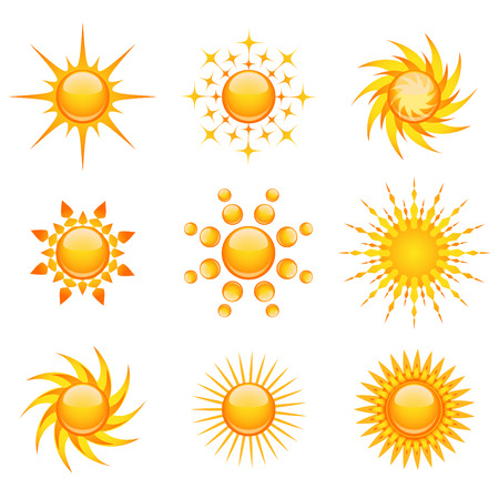 el sol: conjunto de sol  Vectores
