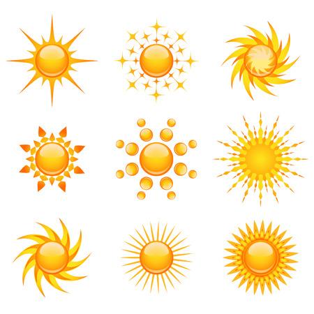 sun shades: set of sun