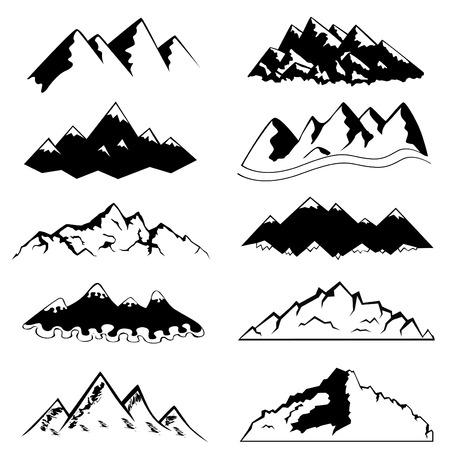 set of mountain   Stock Vector - 8198119