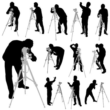 cameraman: photographer set