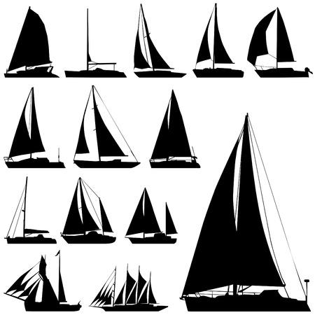 sailing set Stock Vector - 8198111