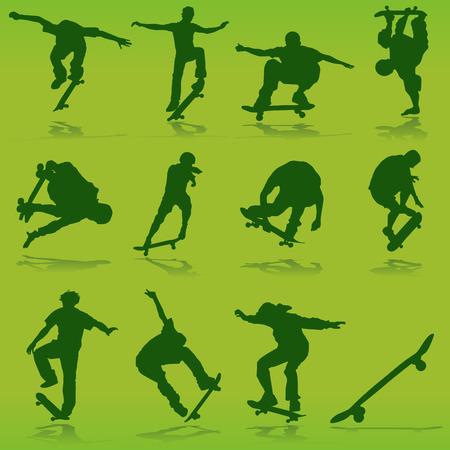 skate board: skateboarding
