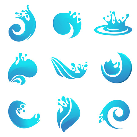 ink in water: splash set