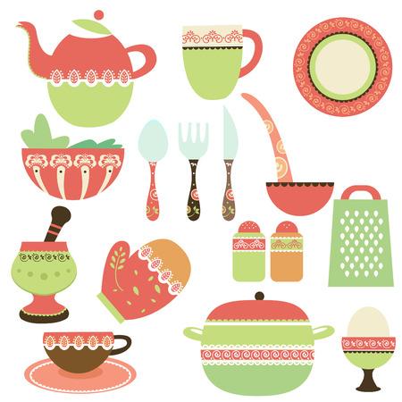 cuisine: objets de cuisine