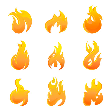 sizzling: fire symbol
