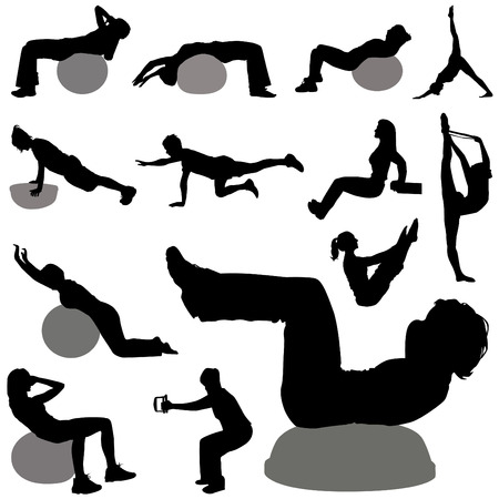 physical training: fitness  Illustration