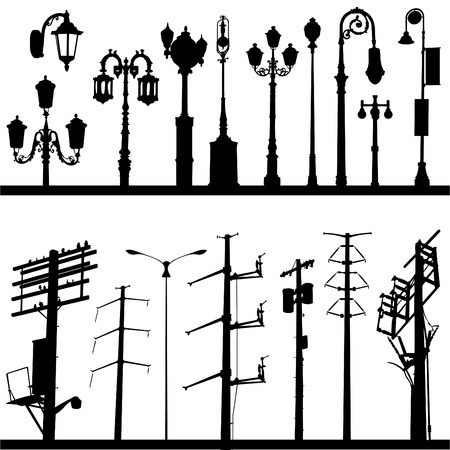 streetlamp: city objects