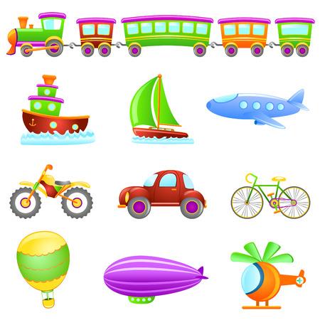 cartoon transportation