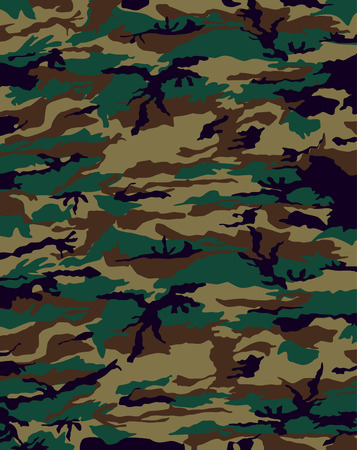 military uniform: camouflage  Illustration