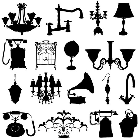 antique objects  Stock Vector - 8333900