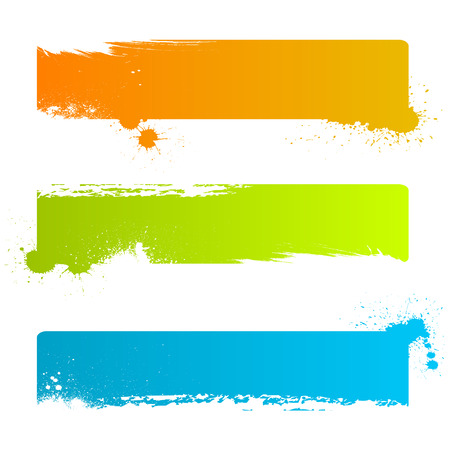 grunge banner backgrounds  Stock Vector - 8333921