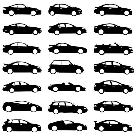 set of cars  Stock Vector - 8333880