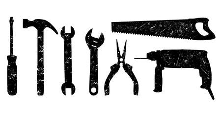 grunge tools  Vector
