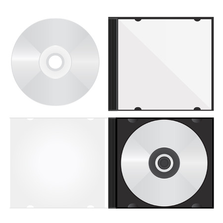 optical disk: disc and box