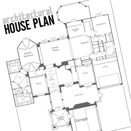 plan maison: plan de maison