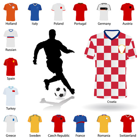 croatia: euro 2008 soccer uniform