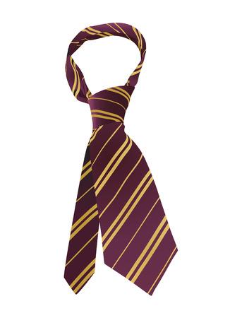 neck wear: tie