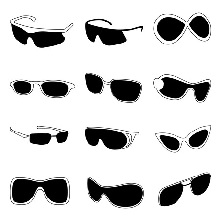 fashion glasses  Stock Vector - 8355802