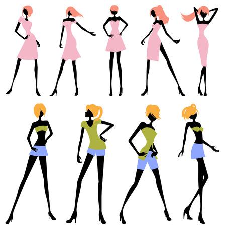 sexes: fashion woman set