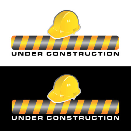 manual workers: under construction vector
