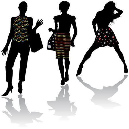 欲望: ファッション ・ デザイン  イラスト・ベクター素材