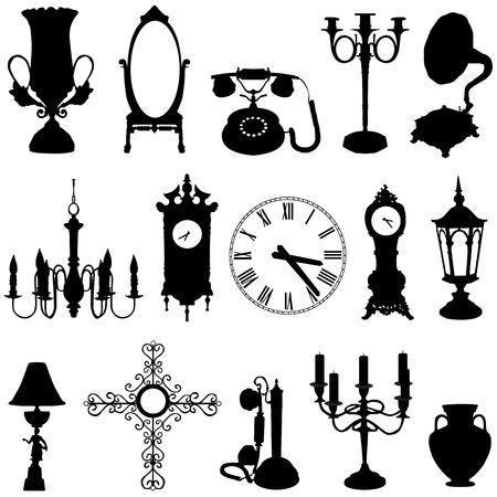 orologi antichi: mobili antichi