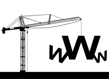 under construction web  Stock Vector - 8497783