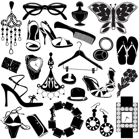 women accessories Stock Vector - 8498191