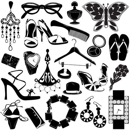hangers: women accessories