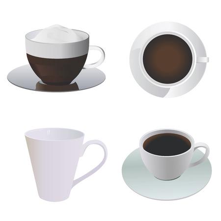 stimulant: coffee cup Illustration