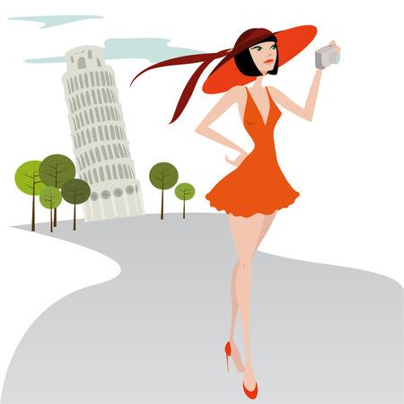Ilustración de viajes