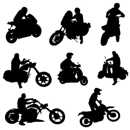 speed ride: motorcycle set
