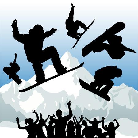 Ski  Vector Illustratie