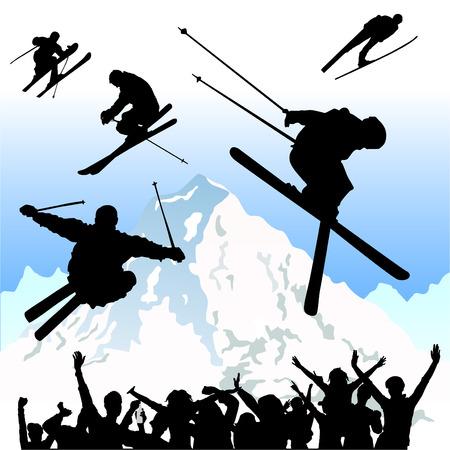 to ski: ski