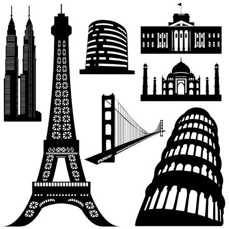 architecture building  Stock Vector - 8610307