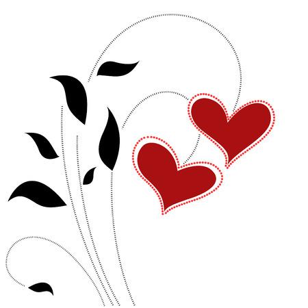 floral love concept