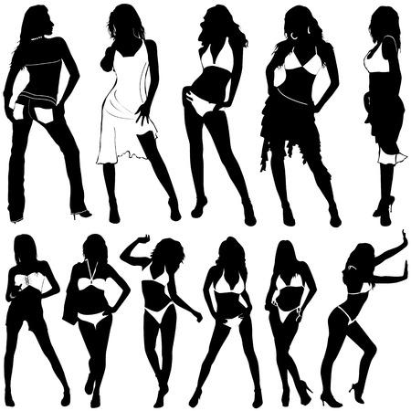 fashion women Stock Vector - 8684871