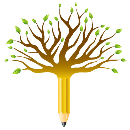 abstract academic: education tree