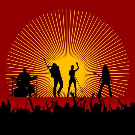 band instruments: music festival