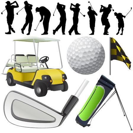 caddy: set of golf