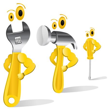 lathe: tool characters  Illustration