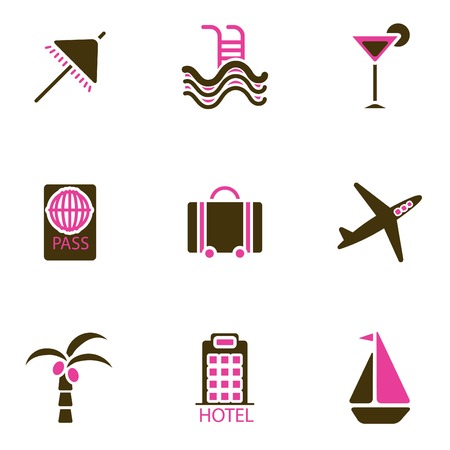 holiday icon set Stock Vector - 8764828