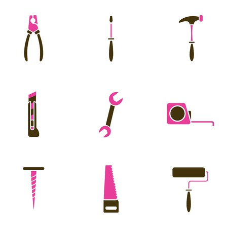 tool icons  Stock Vector - 8764822